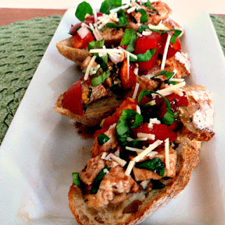 Chicken Bruschetta Crostini- Serves 12
