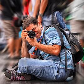 Gordon the PRO by Ferdinand Ludo - People Portraits of Men ( sto nino basilica, photographer, shoot vs shoot )