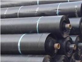 Jual Geomembrane HDPE atau karpet tambak