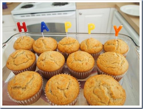 Muffins maken happy