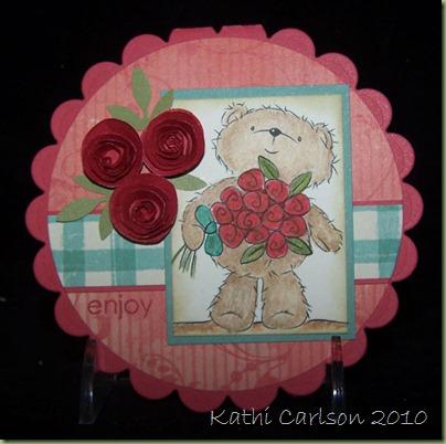Coco and Roses_Digital Image_May 2010