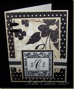 Monogram Card_Nov 2009