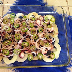 Aguachile-style Octopus and Cucumber Ceviche