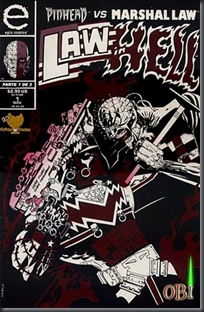 Pinhead Vs Marshal Law - Law in Hell #01 (1993)