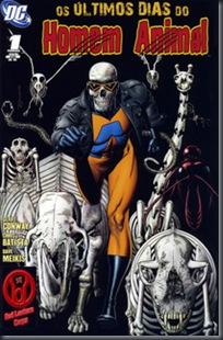 Os Últimos Dias do Homem-Animal #01