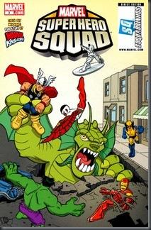 Esquadrão Marvel de Super-Heróis #03 (2009)