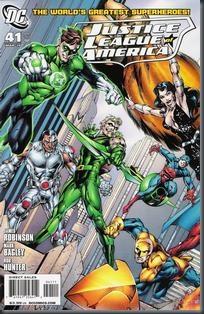 Liga da Justiça da América #41 (2010)