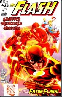 Flash - Arquivo Secreto e Origens