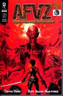 A.F.Z.V. - Agência Federal Contra Vampiros e Zumbis #02