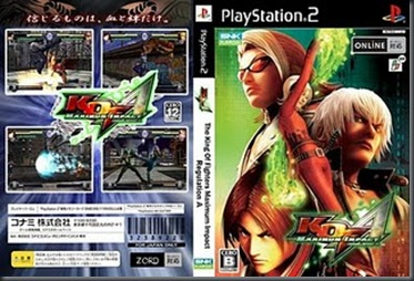 King of Fighters - Maximum Impact Regulation - PS2
