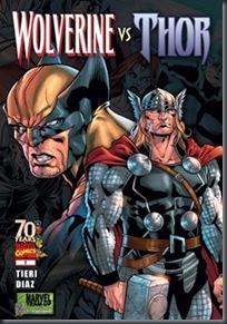 Wolverine vs Thor #01 (2009)