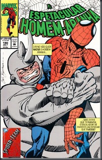 O Espetacular Homem-Aranha #190 (1991)
