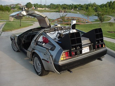 DeLorean de regreso al futuro subasta