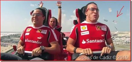 montaña rusa del 'Ferrari World' de Abu Dabi
