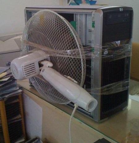 Se jodio el ventilador que en enfría la CPU
