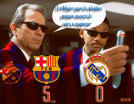 Solución para olvidar la manita del Barcelona