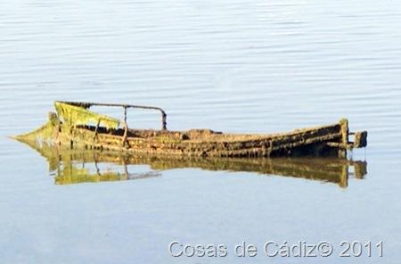 El barco fantasma de Puerto Real
