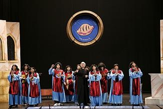 Chirigota: Los niños cantores de viena ó de manolete