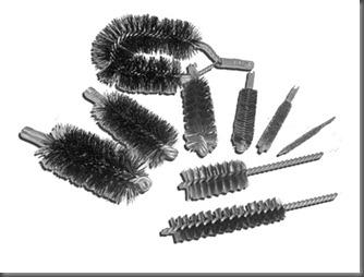 Cepillos para tubos de Cañderas