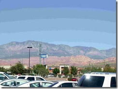 View from Walmart parking lot