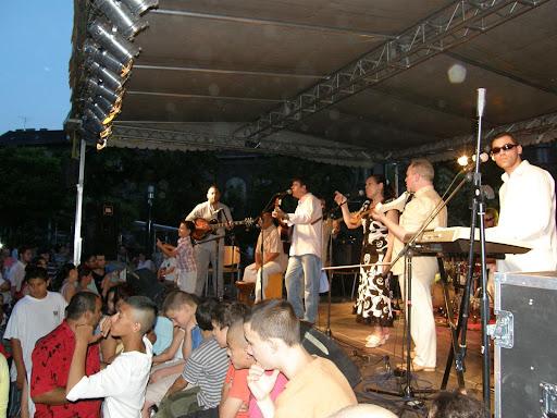 Etnorom, koncert, Budapest, Mátyás tér, fesztivál
