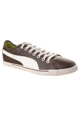 Puma Chaussures Bouleau Chaussure Benicio Caf¨¦ hall Noir j3q54ALR