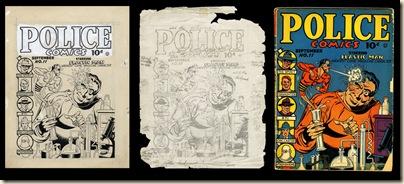 Police Comics 11 Plastic Man Gill Fox