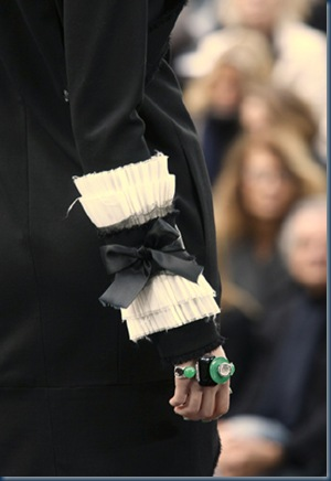 Chanel - ærmedetalje