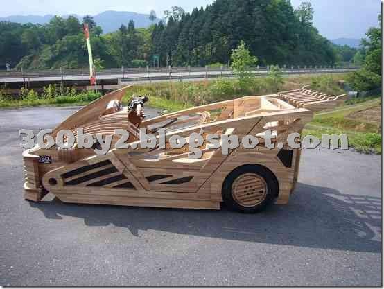 Как сделать машину которая ездит своими руками из дерева