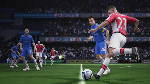 Chelsea vs Arsenal - FIFA 11