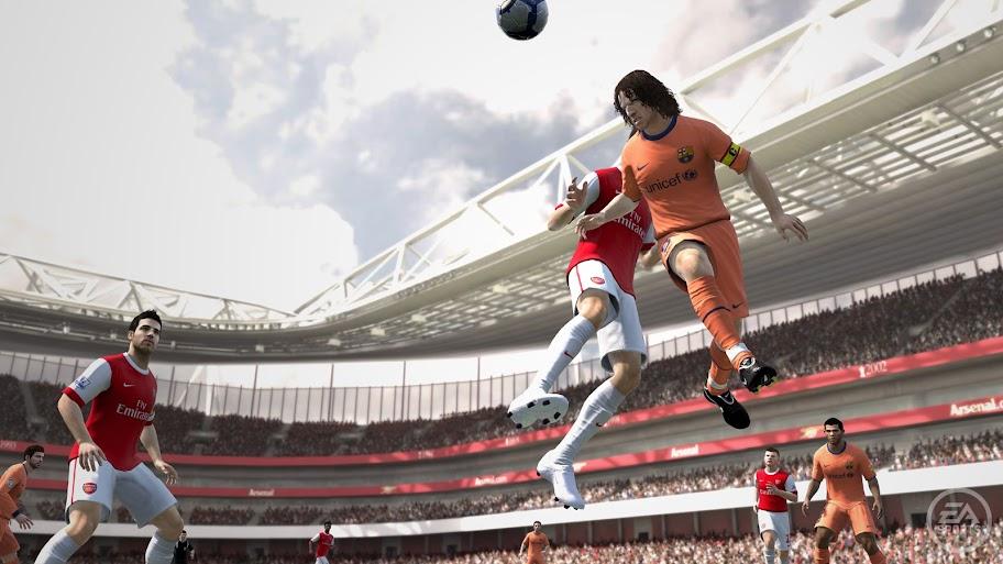 FIFA 11 - Arsenal x Barcelona