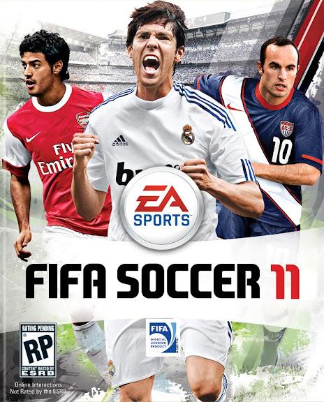 FIFA11 - Capa americana