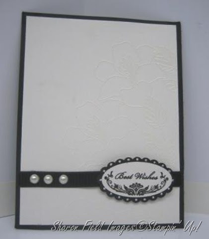 Created By You White On White Wedding Card