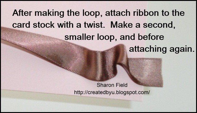 Scrunch Ribbon Step6
