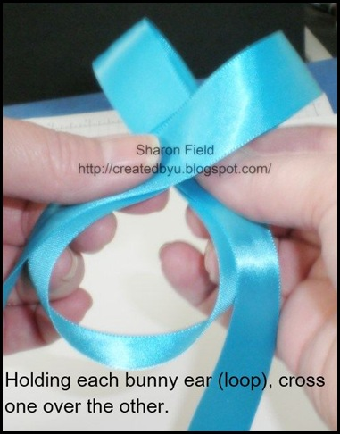 Step2 Make A bow (2)