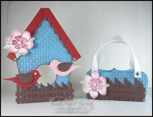 Birdhouse Card & Treat Box(2)