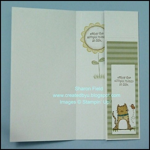 Magnetic Bookmark Card, Super Saturday, Tutorial, Sharon Field