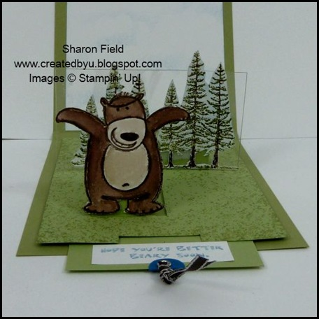 under the stars, double pop up slider, Sharon Field, Shop Online, Stampin Up, Planet Hope, tutorial, Super Saturday