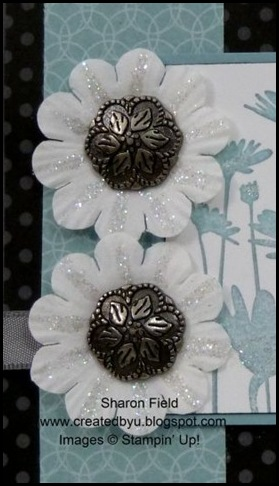 DCBD229, Dazzling Diamonds, Paper Daisies, Antique Brads, Sharon Field, Created By You, design Team