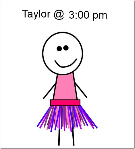 taylor at 3 pm