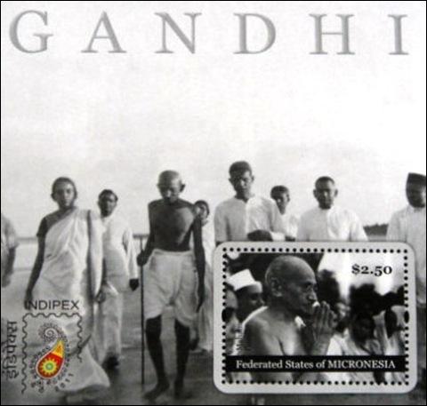 Micronesia Indipex Gandhi