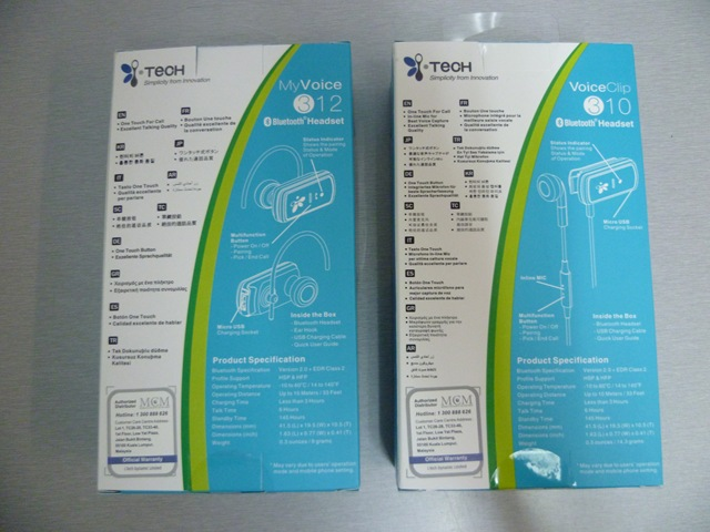 Sales packaging - Back