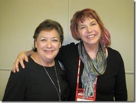 Paula Reed and Robin