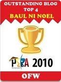 PEBA 2010: Outstanding Blog Top 4