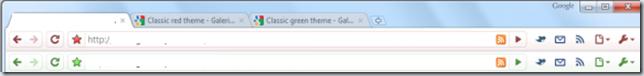 Temas do Google Chrome