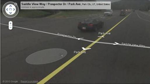 Trecho da estrada em que o Google Maps recomendou uma americana andar a pé: mulher atropelada processa empresa por considerar inseguro o serviço de mapas