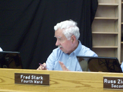 4th Ward Washington City Councilor Fred Stark remains opposed to the idea of increasing the speed limit on E. Washington Street