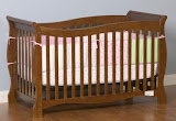 An example of one of the models of cribs voluntarily recalled by the Dorel (Courtesy of the Consumer Product Safety Commission)