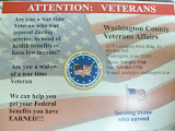 The Postcards VA hopes to send out to local Veterans