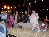 A live Nativity scene from Marion Ave. Baptist Church During The 15th Annual Lighted Holiday Parade in Washington (KCII NEWS)